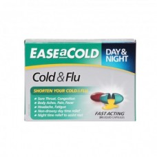 Ease-a-Cold Cold and Flu Day & Night 24 Cap