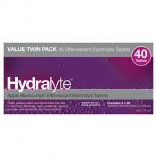 Hydralyte Apple + Blackcurrant 40 EFF Tab