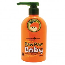 Healthy Care Paw Paw Baby Shampoo & Wash 500ml
