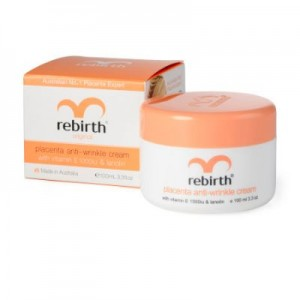 Lanopearl Rebirth Placenta Cream with Vit E & Lanolin 100ml