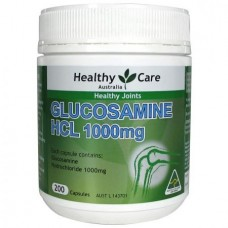 Healthy Care Glucosamine HCl 1000mg 200 Cap