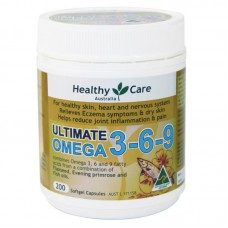 Healthy Care Ultimate Omega 3-6-9 200 Cap