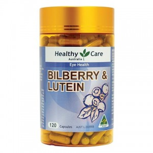 Healthy Care Bilberry & Lutein 120 Cap