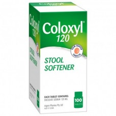 Coloxyl Stool Softener 120 100 Tab