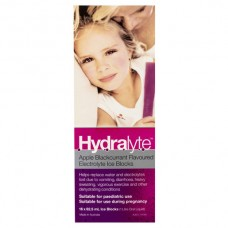 Hydralyte Apple Blackcurrent Electrolyte Ice Blocks 16 x 62.5ml