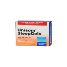 Petrus Unisom SleepGels 50mg 10 Cap
