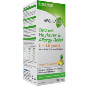 Apohealth Children's Hayfever & Allergy Relief 1-12 Years Pineapple/Orange 100ml
