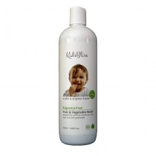 Kids Bliss Fruit & Vegetable Wash Fragrance Free 500ml