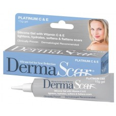 DermaScar Silicone Gel for Scar Reduction Platinum C & E 15g